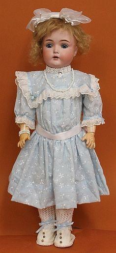 Antique German Bisque doll.