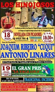 """Pátio de Quadrilhas: Joaquim Ribeiro """"Cuqui"""" em Hinojosos (Espanha) - 1..."""