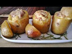 Patate ripiene di formaggio e salsiccia - Rita's Kitchen