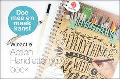 Winactie: Maak kans op een Action Handlettering boek!