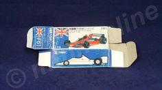 TOMICA F61 BRABHAM BT46 ALFAROMEO | 1/56 | ORIGINAL BOX ONLY | 1978 - 1986