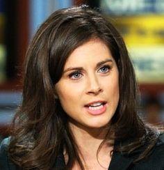 News reporter Erin Burnett from CNN is a classic Clear Winter.
