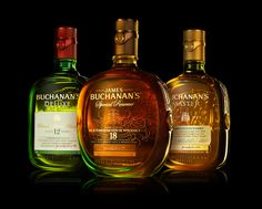 Buchanan's Scotch Whiskey Family