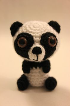 PATTERN Instant OSOCUTE Panda Bear Amigurumi Chrochet by Sahrit