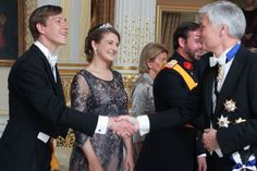 Yesterday:Members of the Grand Ducal Family of Luxembourg attended Luxembourg National Day celebrations.