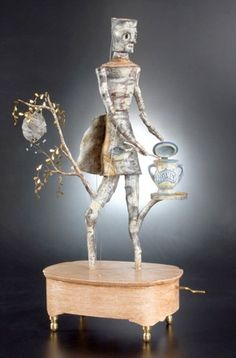 """""""Importance of Honey"""", Dean Lucker...  love his whimsical mechanical art! Puts a smile on your face"""