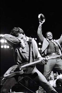 PHOTOGRAPHER JIM MARSHALL: 1936 - 2010 Bruce Springsteen Clarence Clemons