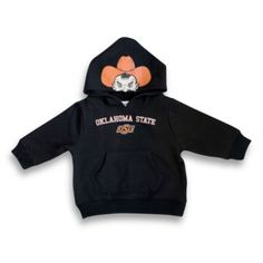 How perfect!!! Mascot Pullover Hooded Sweatshirt - Oklahoma State University - buybuyBaby.com