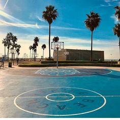 Beach Basketball Samesunvenice Sport Chic Venice Hostel Playground