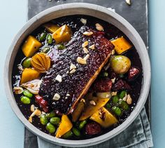 Konfitert ribbe og eplechutney   Appetitt Chorizo, Acai Bowl, Mango, Asian, Breakfast, Food, Ribe, Acai Berry Bowl, Manga