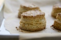 Everyone needs a good biscuit recipe in his or her life. This one won't disappoint. Perfect, Flaky, Buttermilk Biscuits | A Cozy Kitchen