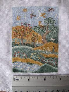 miniature traditional needlework ferguson - Google Search