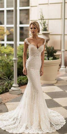 Sexy Naama And Anat Wedding Dresses 2019 ❤️ ❤️ Full gallery: https://weddingdressesguide.com/naama-and-anat-wedding-dresses-2019/ #bridalgown #weddingdresses2019 #wedding #bride
