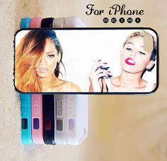 Miley Cyrus,Rihanna,Star ,idol,iPhone 5 case,iPhone 5C Case,iPhone 5S Case, Phone case,iPhone 4 Case, iPhone 4S Case,Case-IP002Cal