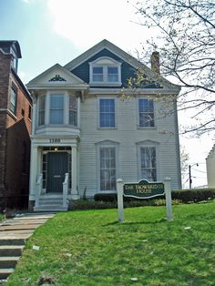 The Trowbridge House is the oldest home in Detroit, MI.  It was built in 1836 for Charles Trowbridge.