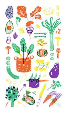 Verduras Trapo de cocina ... ¡Muy pronto!