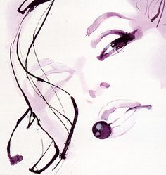 Cherry | David Downton #Illustration