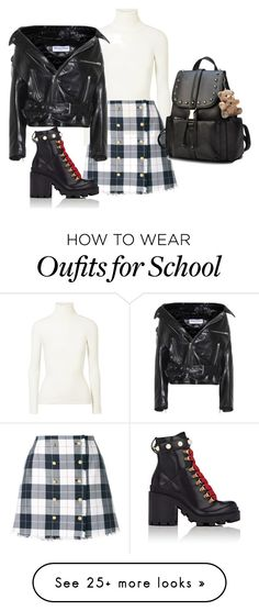 """""""Untitled #1"""" by yau1206 on Polyvore featuring JoosTricot, Thom Browne, Balenciaga and Gucci"""