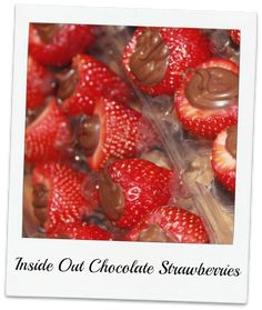 Inside Out Chocolate Strawberries | Recipes We Love