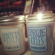 Smells so good!! Bath and Body works candles