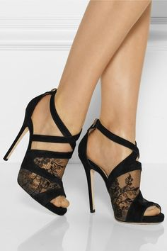 Love these shoes (Jimmy Choo) may be with a little shorter heel