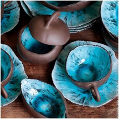 Most recent Absolutely Free Pottery Designs rustic Thoughts Kaufen Sie Set Schokolade und Türkis – Türkis, Pink Ceramic Clay, Ceramic Plates, Ceramic Pottery, Pottery Art, Pottery Bowls, Earthenware, Stoneware, Keramik Design, Pottery Classes
