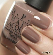 OPI Nail Polish (NL B85-Over The Taupe) NEW Brights Collection CREAMY BROWN Fall Nail Colors, Opi Colors, Opi Nail Polish Colors, Opi Polish, Best Nail Polish, Brown Nail Polish, Brown Nails, Popular Nail Colors, Gorgeous Nails