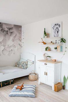 Inspiration #déco pour la #chambre d'un #enfant !  http://www.m-habitat.fr/par-pieces/chambre/amenager-une-chambre-pour-enfant-2624_A