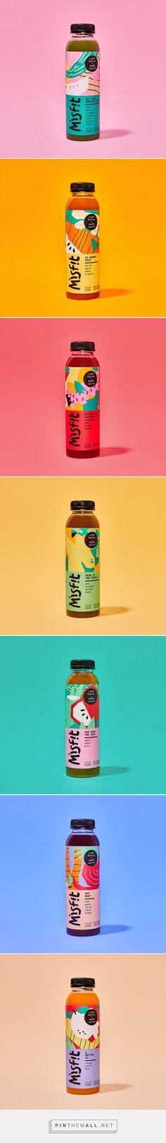 Misfit Juicery Packaging by Gander   Fivestar Branding Agency – Design and Branding Agency