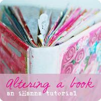 Altered book tutorial | iHanna's Blog