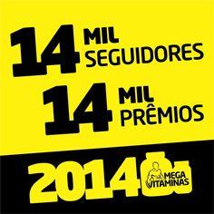 Fim de ano chegando e a promoção #Mega2014 foi antecipada: Nas compras a partir de R$50 ganhe um presente da #MegaVitaminas! Consulte regulamento em megavitaminas.com.br