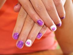 Glitter Fade Camera Nails! Hand Painted! ManiMondays: July Make-up post (of a million manicures)