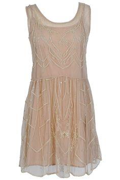 Less intricate Gatsby Dress.