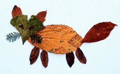 Creative with kids: Autumn leaves