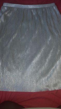 Jupe plissé gris primark