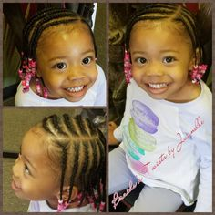 30 Charming Kids Braided Hairstyle Ideas With Beads Toddler Braided Hairstyles, Toddler Braids, Lil Girl Hairstyles, Black Kids Hairstyles, Girls Natural Hairstyles, Teenage Hairstyles, Braids For Kids, Girls Braids, Natural Hair Styles
