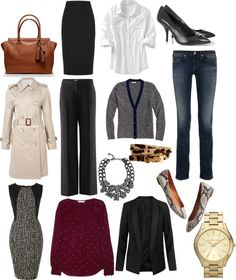 """""""15 Career Girl Must Haves"""" by bgranta ❤ liked on Polyvore"""