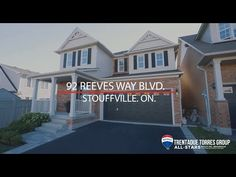 92 Reeves Way Boulevard, Stouffville Presented By The Trentadue Torres G... Walk To School, The Neighbourhood, Real Estate, Group, Mansions, House Styles, Home Decor, Mansion Houses, Homemade Home Decor