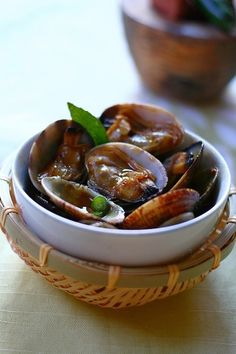 Kam Heong Clams - Malaysian Stir Fry clams