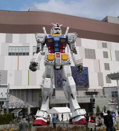 Japanese military mobile suites. called RX-78-2 Gundam.