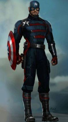 Marvel Concept Art, Marvel Art, Marvel Heroes, Captain America Outfit, Captain America Art, Marvel Comic Character, Marvel Characters, Marvel Comic Universe, Marvel Cinematic Universe