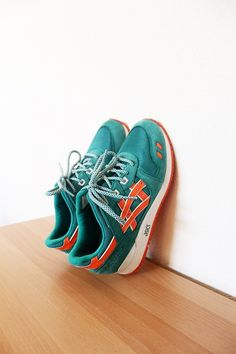 Ronnie Fieg and Asics. #sneakers