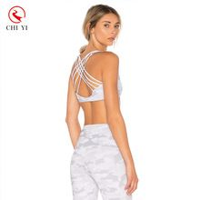 Custom new style fitness fashion gym top yoga bra sport bra for women2017