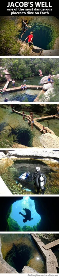 Jacob's well, one of the most dangerous places to dive on earth - Just DWL || The Ultimate Trolling