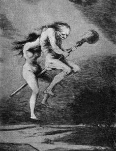 oil paintings of witches | Francisco Goya's paintings of witches did much to shape perceptions ...