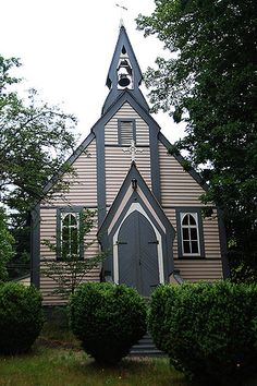 Church at Yale Museum in Historic Yale in the Fraser Canyon, British Columbia | by BCVacation