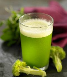 The Green Calcium Juice.  This juice can provide you with tons of calcium. No need for dairy products, this drink can do wonders for you! Try this now..  Ingredients: 1 and a half cup broccoli, 2 green apple, 2 cups kale, 1 cup parsley, 1 lemon.