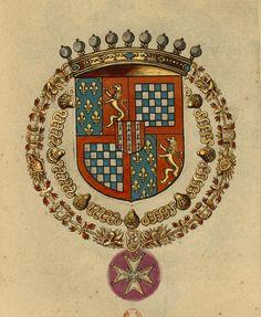 Armoiries de Just-Henry de TOURNON