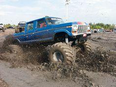 Big Ford Trucks, Jacked Up Trucks, Lifted Cars, Diesel Trucks, Custom Trucks, Cool Trucks, Chevy Trucks, Pickup Trucks, Mudding Trucks