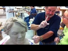Sculpting the Head in Clay - YouTube